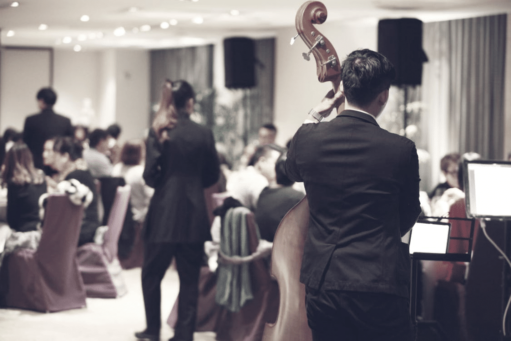 Orchestra in Function Room