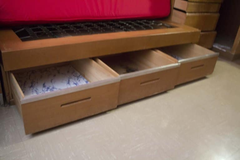 Underbed Storage can be great space saver