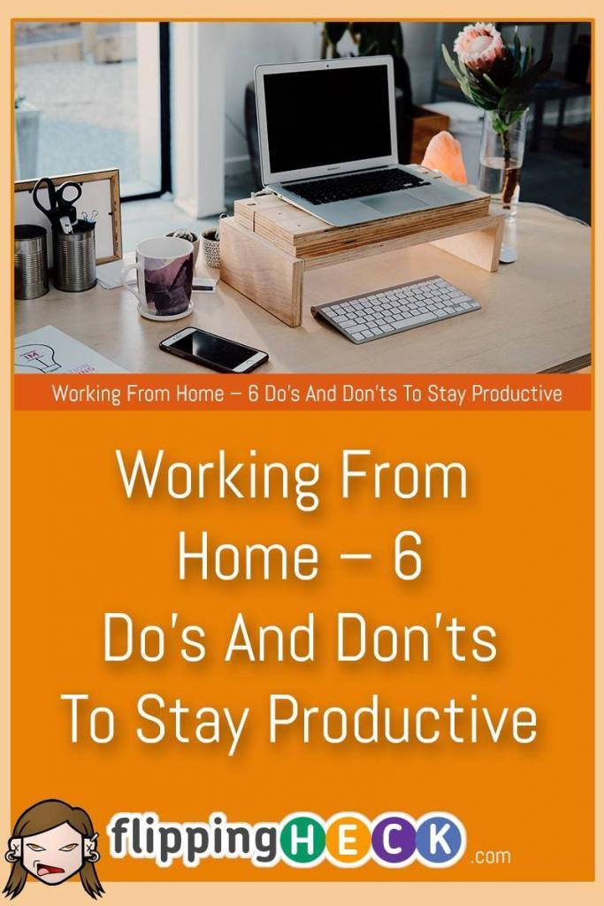 If you work from home you probably think you're being pretty productive - but are you being as productive as you could be? In this article we look at 3