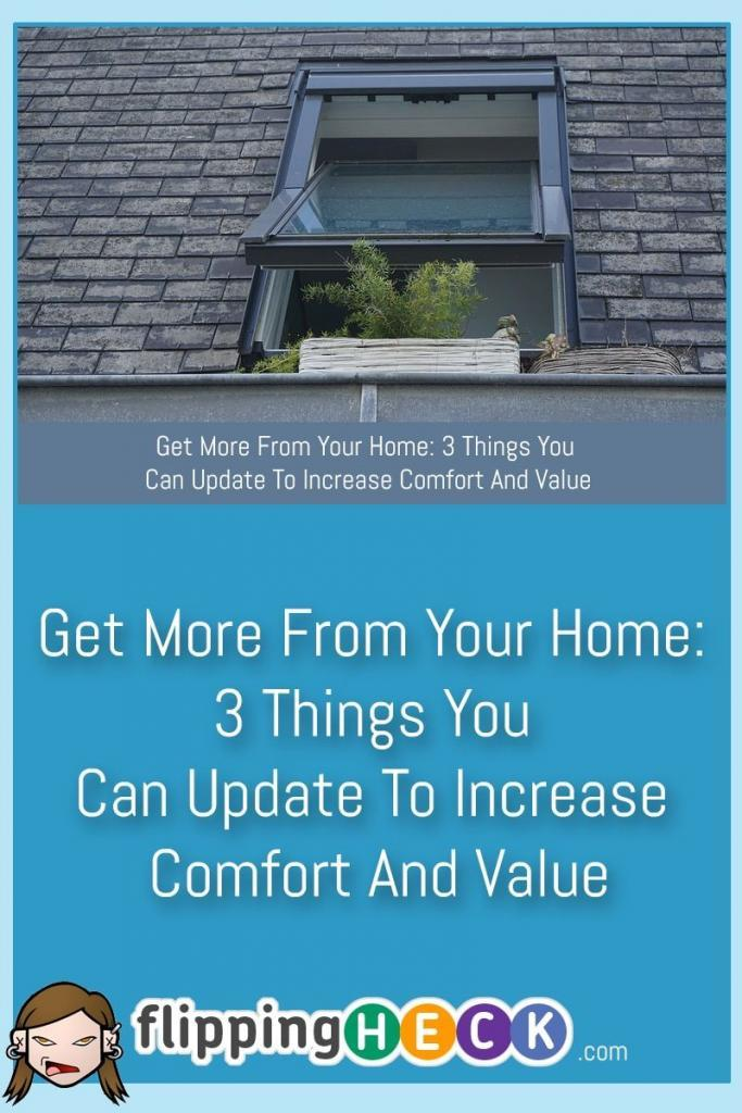 There are plenty of reasons why you might want to replace parts of your home. Doing so can reap you the benefits of new, improved designs and technology. You might be looking at improving energy efficiency, or perhaps you want to put your house on the market and need to do some work so you can get as much as possible. In this article we look at 3 things you can change on your home to improve it's resell value and energy efficiency.