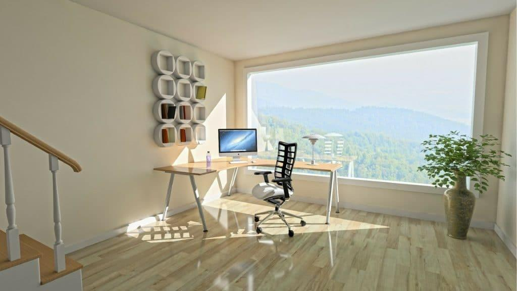Open Plan Office With Views Over Valley