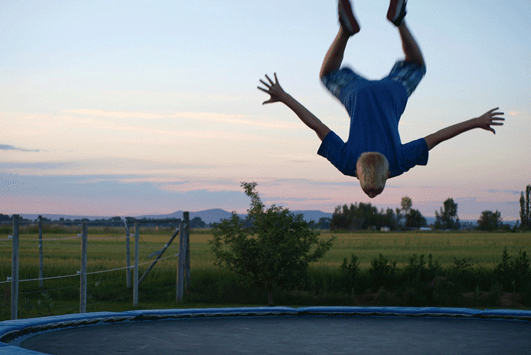 5 Surprising Ways That Trampolines Can Boost Your Productivity